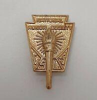 Vintage National Honor Society CSLS Lapel Pin Marked BJP