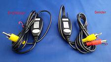 KFZ Kabellos Funk 2,4GHz Sender Empfänger für Auto Rückfahrkamera / Autoradio