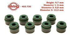 8 Valve Stem Seals FOR BMW 11341461679 MERCEDES 0000535158 M271 Elring403.730