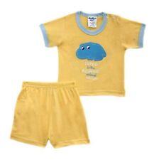 Hippo - Yellow Animal Short Set for Baby/Infant Boy Size newborn