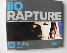 IIO RAPTURE CD SINGLE CD MADE 3 MIX TRACKS