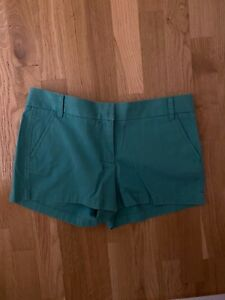 J.Crew Chino Shorts Size 10 - Green