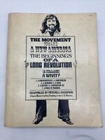 The Movement Toward a New America: The Beginnings of a Long Revolution 1st 1970