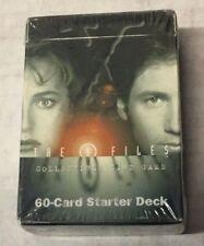 X-Files TCG / CCG 60-Card Starter Deck - Factory Sealed
