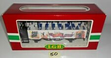 LGB 3125 OPEN AIR PASSENGER CIRCUS CAR G SCALE MADE IN GERMANY MINT IN BOX 50