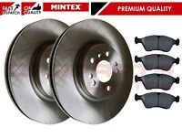 FOR MERCEDES M ML CLASS CDi 2005-> MINTEX FRONT BRAKE DISCS SET + DISC PADS KIT