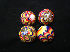 Hom Glass Marbles Collectable 22mm Handmade Marble - Razzamatazz