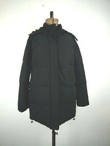 Kin by John Lewis Black Puffer Jacket UK 8 P to P:57cms L:78cms RRP129
