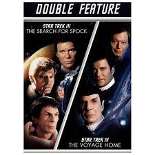 Star Trek III Star Trek IV 2 DVD Set Search Spock Voyage Home Double Feature