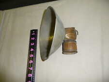 Vintage Coal miners carbide lamp Just Rite with large reflector lantern