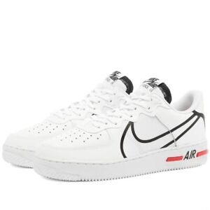 Nike Air Force 1 React 'D/MS/X' Trainers Men's Uk Size 10 EUR 45 CD4366 100