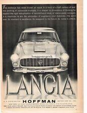 1960 Lancia Flamina Automobile Car Vintage Ad