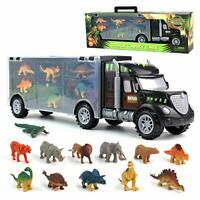 Dinosaur Toys Truck Transport Carrier Truck Toys with Dinosaur Toys Animals Toys
