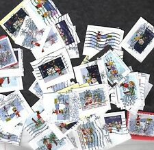 100+ #5021-30 Charlie Brown Christmas Stamps, Forever, On Paper