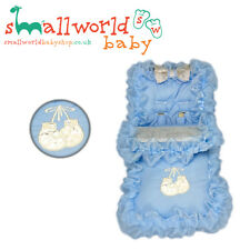 Baby Blue Full Bling & App Boxing Gloves Footmuff Cosytoes (NEXT DAY DISPATCH)