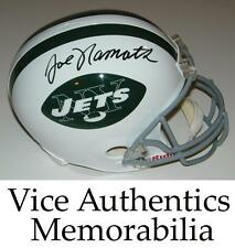 Joe Namath Signed Autographed Auto New York Jets Full Size Helmet - JSA Witness