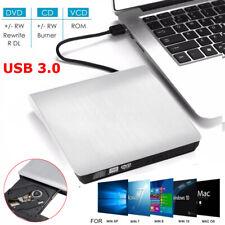 External USB3.0 DVD RW ROM CD Writer Slim Drive Burner Reader Player PC USA *#