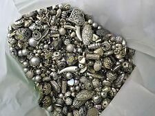 1kg perline di gioielli, Argento/Grigio, Casuale Mix