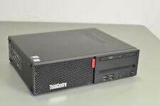 Lenovo ThinkCentre M710s Core i7-7700 3.6GHz QC 8GB 256GB M.2 Win 10 SFF PC