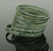 FABULOUS ANCIENT BRONZE AGE SPIRAL ARMLET 9TH-7TH CENTURY BC  (809)