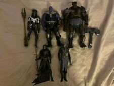Hasbro Marvel Legends Thanos Ebony Maw Corvus Glaive Proxima Cull action figures