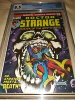 Doctor Strange #4 CGC 8.5 (VF+) - Death Appearance & Skull Cover - New Slab