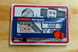 KHS - Tomix N Scale 4024 Signal Box w/ Structure Kit - 347