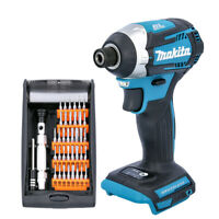 Makita DTD154 18V Brushless Impact Driver + 38 Pcs Multi-Purpose Screwdriver Bit