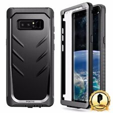 Poetic For Samsung Galaxy Note 8 Cover [Revolution] Shockproof Rugged Case Black