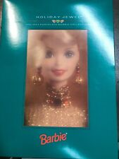 1995 HOLIDAY PORCELAIN BARBIE COLLECTION HOLIDAY JEWEL 14311-20322 SEALED