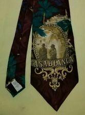 Casablanca Silk Tie 1993 Turner Entertainment American Film Classics Made in USA