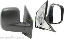 VW TRANSPORTER MK5 T5 V NEW DOOR SIDE WING MIRROR RIGHT 2003-2009 BLACK MANUAL