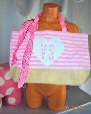 Victorias Secret FUN IN THE SUN Beach Tote and Scarf  Bag Purse NWT