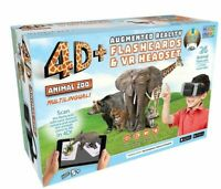 4D+ Utopia 360° Animal Zoo Augmented Reality Flashcards VR Headset FREE SHIPPING