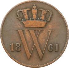 Kgr. Niederlande, Willem III., 1 Cent 1861