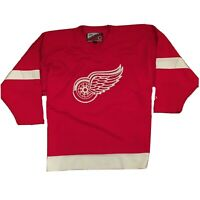 VTG Detroit Red Wings NHL Hockey Jersey Embroidered Logo by Pro Player Sz XL