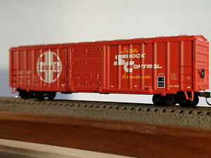 HO Athearn (buy 2-$4 off)50' Santa Fe  railbox #15661, built 1979, body mounted