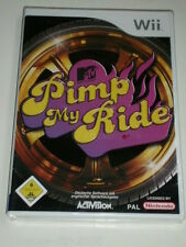 WII MTV PIMP MY RIDE ORIGINAL DEUTSCHE VERSION NEU & OVP  AUTOS ZUM PROTZEN & PS