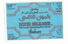 England - Vintage Label - H.P. Bulmer, Hereford - Silver Bulmagne - For Kuwait