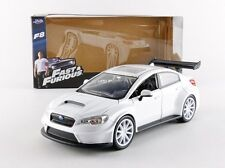 JADA 98296 - 1/24 MR LITTLE NOBODYS SUBARU WRX STI FAST AND FURIOUS 8 MOVIE CAR