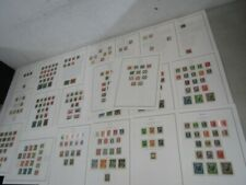 Nystamps German States Bavaria old stamp collection Album page high value
