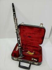 Vintage Clarinet with red velvet Case D15338