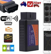 ELM327 OBDII OBD2 WiFi Car Diagnostic Scanner Tool iPhone Android Adapter Torque