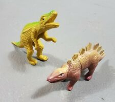 vintage hollow body dinosaurs chinasaurs hard rubber dino figures