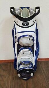 MAXFLI U/SERIES 5.0 Golf Club Stand Bag 14 Way Blue and White Color C779