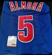 Chicago Cubs - Albert Almora Signed Jersey - PSA COA #8A20884