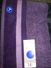 lot de 3 draps  de douche TEX   violet  70x140cm bio