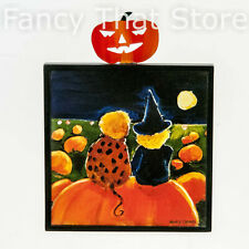 """Nancy Thomas Sitting in the Pumpkin Patch Wall Plaque 