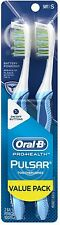 Oral-B Pro-Health Pulsar Soft Toothbrush, Value Pack 2 ea (Pack of 3)