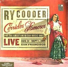 RY COODER LIVE 180GM 2 LP NEW